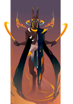 Anubis ~ Egyptian Gods by Yliade