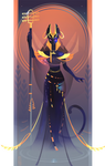 Bastet ~ Egyptian Gods by Yliade