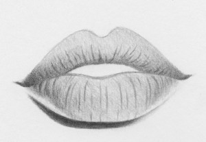 how to draw lips 9