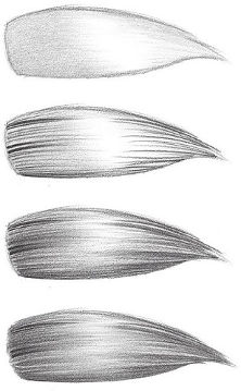 how to draw hair close up RFA