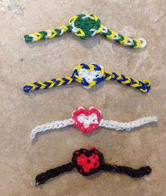 how to weave a bracelet out of rubber bands heart
