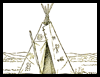 How to Draw Native American Indian Teepes