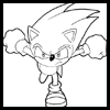 Learn how to draw Sonic the Hedgehog.