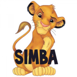 How to Draw Simba as a Baby Lion Cub from Lion King