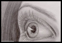 How to Draw a Realistic Eye in Perspective [Video]